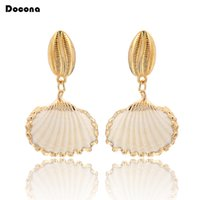 New Arrival Fashion Elegant Drop Earrings Hot Selling Gold C...