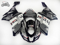 Customize Chinese Fairings kit for Kawasaki Ninja ZX- 6R 07 0...
