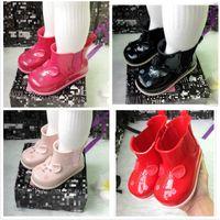 I bambini del fumetto pioggia stivali moda melissa jelly scarpe studente bambini antiscivolo stivali da acqua baby ragazzi scarpe moda ragazze scarpe outdoor F4318