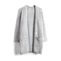 Malhas das mulheres T-shirt Mulheres Camisola de malha Casual Cardigan Manga Longa Casaco Casaco Outwear Tops Plus Size CGU 88
