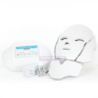 새로운 도착 수직 형 세 가지 색상 PDT LED 조명 기계 PDT는 빛 치료 얼굴 마스크를 주도
