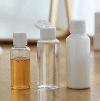 30ml frasco vazio Container Dispenser Shampoo Loção Squeeze Jar Plastic Limpar Maquiagem viagem recarregáveis garrafa KKA7765