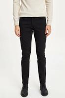 Costume de DeFacto Hommes Pantalons de loisirs classique d'affaires à long Pantalon Homme Solide Couleur Casual Simple Pantalon Mode Hommes - M2503AZ19WN