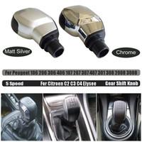 Peugeot 106 için Citroen C2 C3 ila C4 Xsara kılavuzu 5 Hız vites topuzu için 206 406 107 207 307 308 2008 3008