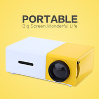 Portable Projector YG300 LED 400- 600LM 3. 5mm Audio 320 x 240...
