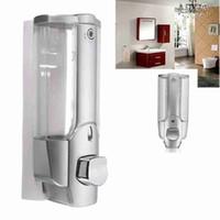 Sıvı Sabunluk 350ML Temizleme Sıvı Dispenser Konteyner Manuel Basın Duvar Sabunluk Açık alet ZZA2341 Monteli