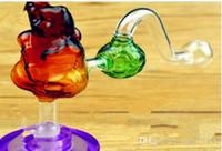 Wasserpfeifenzubehör [Fußball] Pandatopf Großhandel Glasbongs Ölbrenner Glas Wasserpfeifen Ölplattformen Rauchen frei