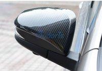 لتويوتا هايلكس ريفو SR5 AN120 AN130 2015-2018 ألياف الكربون اللون باب المرآة تراكب الغطاء الخلفي غطاء تريم لوحة سيارة اكسسوارات التصميم