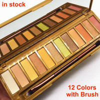 Makeup Honey Eyeshadow Palette with Brush Nk 12 Colors Eye S...