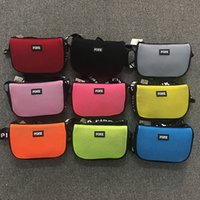 Pink Letter Shoulder Bag Fanny Pack Waist Bag Messenger Bags...