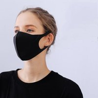 Anti-Dust Cotton Mouth Face Mask Unisex Man Woman Cycling Wearing Black Fashion High quality Windproof Mouth Cover