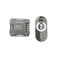 18A LED Dimmer 12 V 24 V Açık Kapalı Switch Için LED Şerit Ampul Parlaklık Ayarlanabilir 6a x 3ch