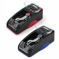Orijinal Gerui Otomatik Rolling Makinesi Elektronik Sigara Roller Maker Kırmızı Mavi Renk DIY Aracı ile Duvar Şarj