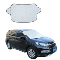 Universal Automobile Sunshade Cover Snow Ice Shield for Wind...