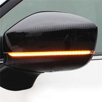 Dinamik Dönüş Sinyali LED Yan Dikiz Aynası Göstergesi Mazda CX-5 CX5 KF CX-8 CX-9 CX9 2017 için Sıralı Blinker Işık CX9 2018
