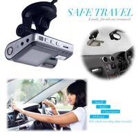 330 degrés de rotation double objectif caméscope voiture automatique DVR double caméra HD 1080p tableau de bord cam boîte noire enregistreur de conduite avec parking arrière Livraison gratuite