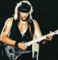 무료 배송 Richie Sambora Signature St 1996 블랙 페이즐리 일렉트릭 기타, 플로이드 로즈 트레몰로 다리, 잠금 너트, SSH 픽업, 별 인레이