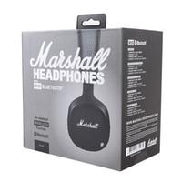 Marshall MID 헤드폰 ANC 블루투스 헤드폰 활성 소음 제거 무선 DJ 헤드폰 딥베이스 게임 헤드셋 스마트 폰용