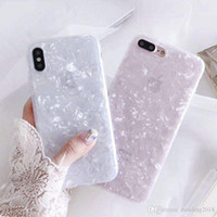 Nouveau Conch Shell Phone Case pour Iphone 6S Case pour Apple Iphone X 6 7 8 Plus