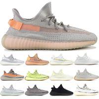 62f2cbfdb08c7f Adidas Yeezy Boost 350 v2 Marke Mode Luxus Designer Sneakers Männer Schuhe  Statisch 3 Mt Reflektierende TON WAHRE FORM HYPERSPACE BELUGA Sport Trainer  ...