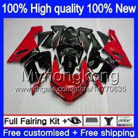Кузов для KAWASAKI ZX-600 ZX 6R 600CC 6 R ZX636 2005 2006 210MY.82 черный красный ZX-636 600 CC ZX6R 05 06 ZX600 ZX 636 ZX-6R 05 06 обтекатель