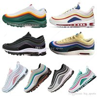 Hot Sale New 97s Men running Shoes Cushion 97s Leopard Yello...