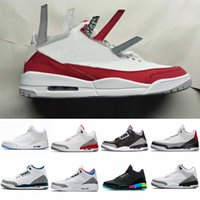 2019 New 3 Mens Basketball Shoes Sneakers 3s Tinker Universi...