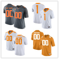 Custom Tennessee Volunteers # 6 Alvin Kamara 16 Peyton Manning 1 Jason Witten 14 Eric Berry 11 Joshua Dobbs NCAA College Football Jerseys