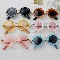 Neue kühle Kind-Mädchen-Jungen-Sonnenbrille polarisierte Linse Designer Sommersonnenschutzbrillen Sport einen.Kreislauf.durchmachenglas Außen Brillen FY2237