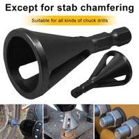 금속 드릴 디버링 외부 모따기 도구 스테인레스 스틸 금속 척 드릴 모든 종류의 버 도구를 제거 비트