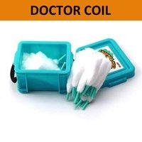 Advken доктор катушки органический хлопок шнурки 50 шт. электронные сигареты Аксессуары Инструменты для DIY E Cig Ecig RDA RBA RTA RDTA бак распылитель