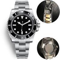 cerâmica mecânicos mens u1 automáticos relógios 40 milímetros de aço inoxidável completa Gliding fecho Swim relógios de pulso de safira super-relógio luminoso