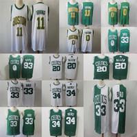 0dd0b0ba7b8 Wholesale larry bird jersey for sale - Group buy Men s Irving Jersey Jayson  Tatum Paul