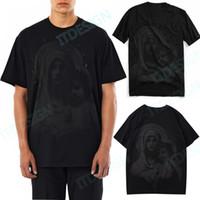Baskı Sokak Moda Tasarımı Pamuk Tee Slim-Fit Yaz Giyim Tshirt ile Erkekler Studs Yama Tee Sıcak Satış