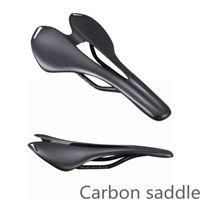 의 로고 전체 탄소 산악 자전거 자전거 액세서리 3K 매트 / 광택 마무리 좋은 품질의 자전거 부품 도로 안장되지 MTB