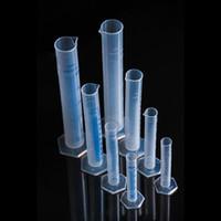 Cilindro de medição de plástico Conjunto de cilindros graduados 10/25/50 / 100mL Copo de medição Ferramentas de laboratório de química Frete grátis