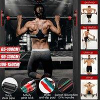 Upgrade-Tür-Reck mit großem Anti-Rutsch-Pad 200 KG Home Gym Workout Chin Up Pull Up Trainings Bar Sport Fitnessgeräte
