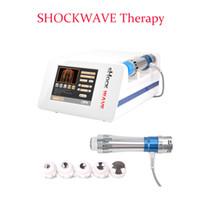 Vücut selülit azaltılması için ED tedavisi / taşınabilir fizyoterapi makinesi için sıcak satış şok dalgası fizyoterapi makinesi