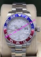 Relógios de luxo 3 estilo Crown Aço Cerâmica 40mm Mecânica Mecânica Preto 126710 Jubileu Moda Homens Relógios de Relógios