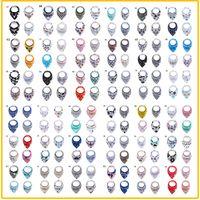 72 تصاميم الرسوم المتحدث حديثي الولادة مرايلات القطن جديد بنات بنين ماء خالص طبقة مزدوجة المرايل نوعية جيدة تجشؤ الملابس
