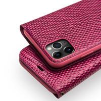 أزياء جلد طبيعي غطاء الهاتف ل ابل اي فون 11 برو ماكس حالة واقية مع فتحات بطاقة للنساء لفون 11