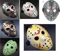 Kreative Freddy Vs Jason Masken 13. Black Friday Fun Scary Mask Dance Party Vollgesichtsmaske Halloween-Party-Dekoration SN1059