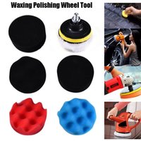 7pcs 8CM Car Polishing Wheel Kit Polishing Buffing Pad Kit f...