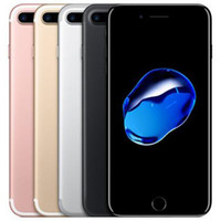 الأصلي تم تجديده Apple iPhone 7 Plus ios A10 5.5 بوصة رباعية النواة 3 جيجابايت رام 32/128 / 256 جيجابايت rom 12mp 4 جرام lte الهاتف الذكي مجانا dhl 5pcs