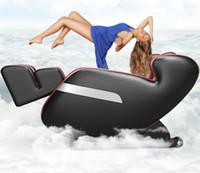 التلقائي بالكامل لكامل الجسم الجاذبية تدليك كهربائي كرسي ذكي كبسولة أريكة العجن مدلك متعدد الوظائف