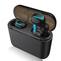Wireless Bluetooth 5.0 Earphones Q32 TWS Handsfree Headphones Sports Earbuds سماعات الألعاب متوافقة مع الهواتف العالمية