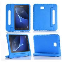 Kinder Kinder Stoßfest Hülle Griff Stand Cover für Samsung Galaxy Tab A6 10,1 Zoll T580 T585 EVA Foam Tablet Schutzhülle