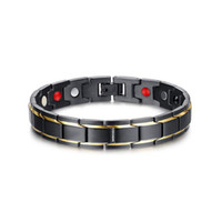 Bracelet thérapeutique en acier inoxydable en acier inoxydable