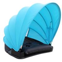 Sombrinha de Proteção Solar Guarda-sol Dobrável Sun Sombra Mini Guarda-sol de Praia Parasol com Travesseiro Cobertor Carry Bag Novo