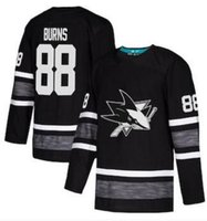 Maple Leafs 97 McDavid Men Black 2019 لعبة All-Star 97 McDavid 29 Fleury 9 Eichel 70 Holtby 91 Tavares 34 Matthews 88 Burns Hockey Jersey